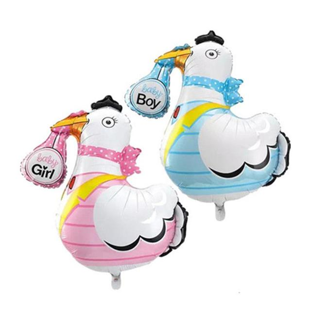 Baby Girl Boy Foil Balloon Lovely Goose Baby Shower Balloons Baby