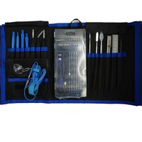 75 in 1 Precision Screwdriver Set Magnet Repair Tool Kit with Portable Bag for iPhone Cell Phone iPad Tablet PC 5set/lot