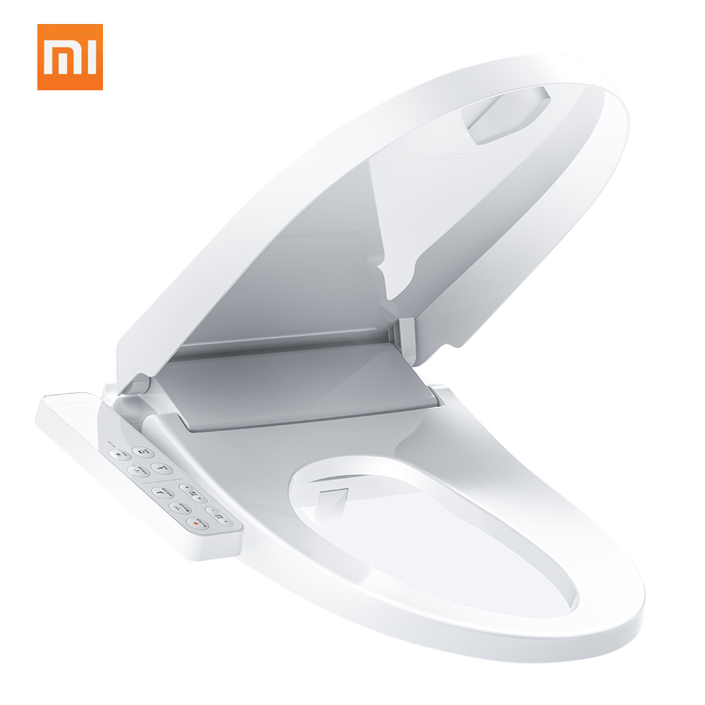 Remarkable Us 170 99 5 Off Xiaomi Smartmi Smart Toilet Seat Lid Cover Water Heated Filter Electronic Heated Bidet Spray Closestool With Led Night Light In Gmtry Best Dining Table And Chair Ideas Images Gmtryco