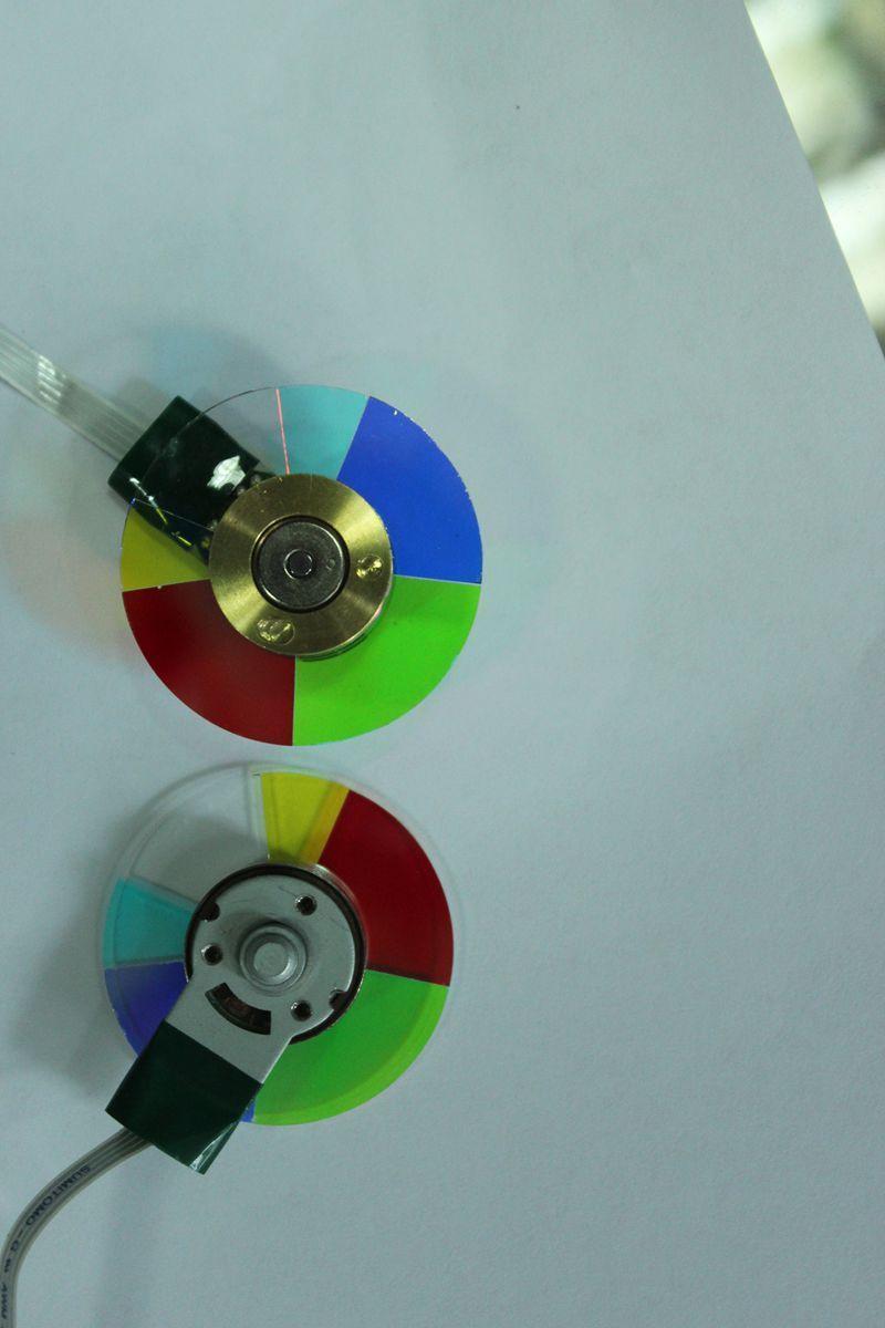 New For NEC V230X+ V260+ VE280X+ VE281+ VE282+ VE280+ DLP Projector Color Wheel 4м набор первые фокусы