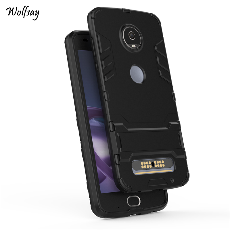 info for 78822 49690 US $2.68 37% OFF|Wolfsay For Cover Motorola Moto Z2 Play Case Shockproof  Robot Armor Phone Case For Motorola Moto Z2 Play Cover For Moto Z2 Play-in  ...