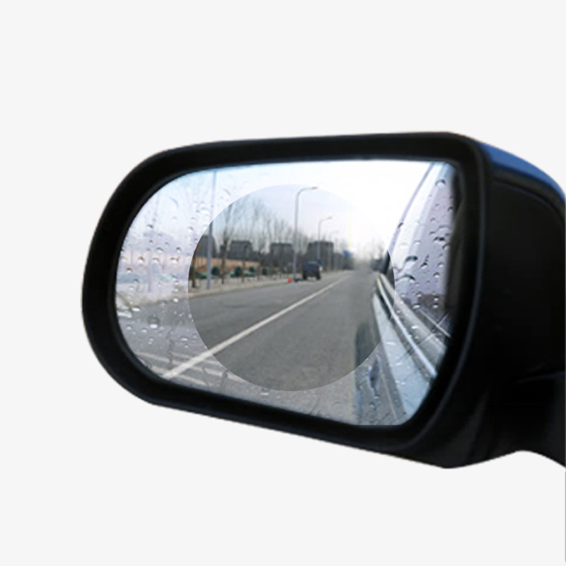 Rearview-Mirror Protective-Film Car-Glass Car-Anti-Rain Rainproof 2PCS