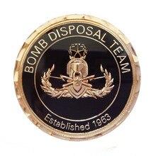 custom 3D Metal Promotional Coin cheap Medallion with Diamond Edge coins