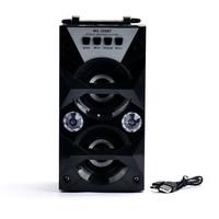 High Quality Sound Multimedia Bluetooth Wireless Portable Speaker Super Bass With USB TF AUX FM Radio