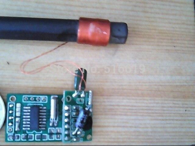 Бесплатная доставка Низкая частота время код стандартный модуль радиоуправляемые часы модуль Электрической волны модуль часов