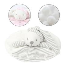 Newborn Baby Soft Rattles Sleep Plush Toy Appease Towel Cute
