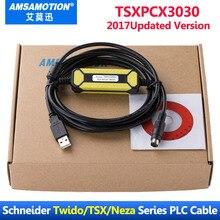 TSXPCX3030 C USB Programmierung Kabel Geeignet Schneider Modicon TSX PCX3030 Serie PLC