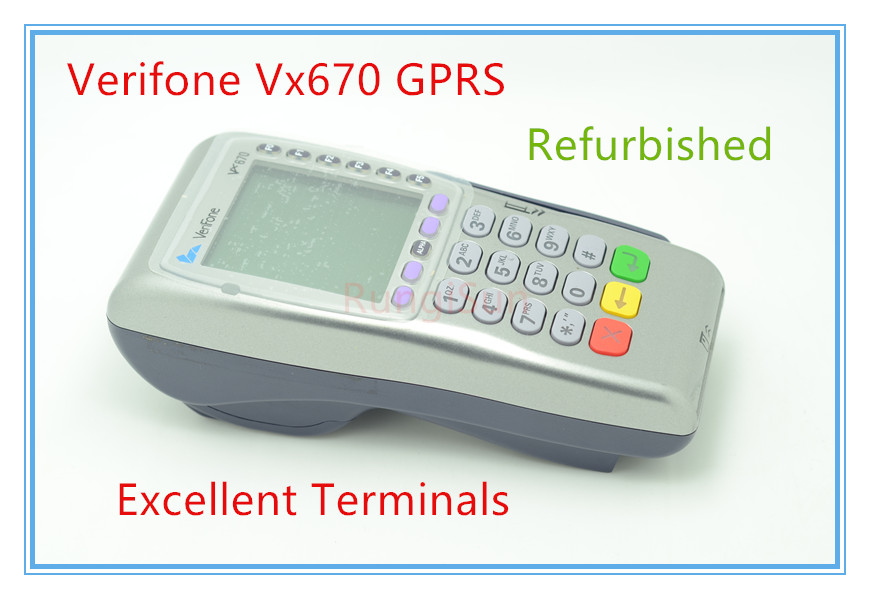 Verifone Used Vx670 GPRS POS Terminals POS SYSTEMS