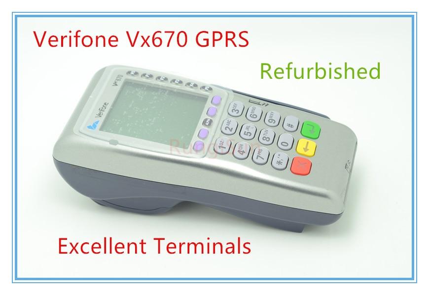 verifone optimum м4230 - Verifone Used Vx670 GPRS POS Terminals POS SYSTEMS