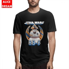 T shirt Star wars BB-8 Tee For Man Graphic Print Shirt O-neck Big Size T-shirt Casual New Arrival 2019 Popular 3D