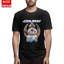 T shirt Star wars BB-8 Tee For Man Graphic Print T Shirt O-neck Big Size T-shirt Casual New Arrival 2019 Popular 3D Print недорого