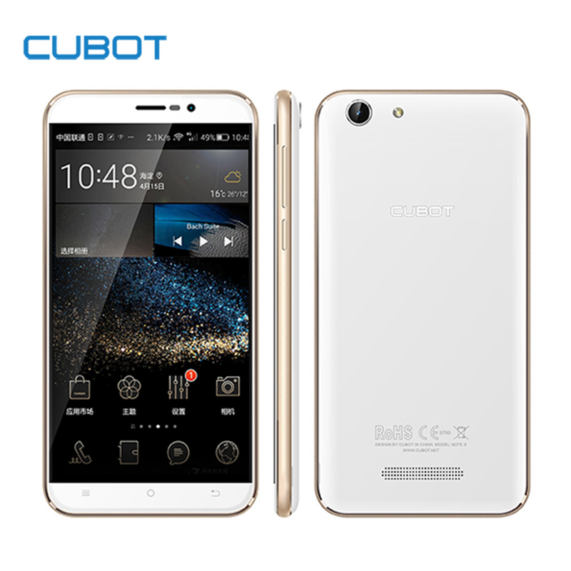 Original Cubot Note S 4150mAh Battery Cellphone 5 5inch 1280X720 Android 5 1 font b Smartphone