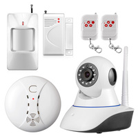 720P Security Alarm IP Camera Smart Alarm Sensors Support Digital Security Camera IR Infrared Night Vision