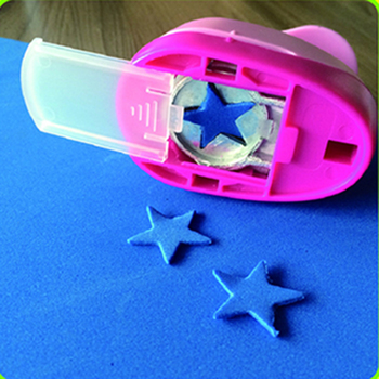 Flower & Star Punch DIY Craft Hole Punch Eva Foam Puncher Kids Scrapbook Paper Cutter Unique Tag Punches Embossing Tools image