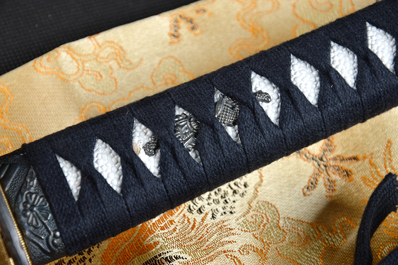 Bradon Svärd Lång Handgjord Japansk Samurai Katana Skarp Full Tang - Heminredning - Foto 3