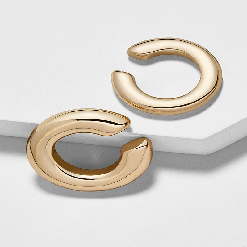 New-Punk-Gold-Alloy-Ear-Clip-Earrings-for-Women-Girls-Simple-Charm-Circle-Small-Earring-Party