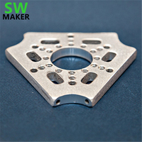 SWMAKER Kossel rostock 3D printer parts Multipurpose Delta Effector CNC metal hotend effector