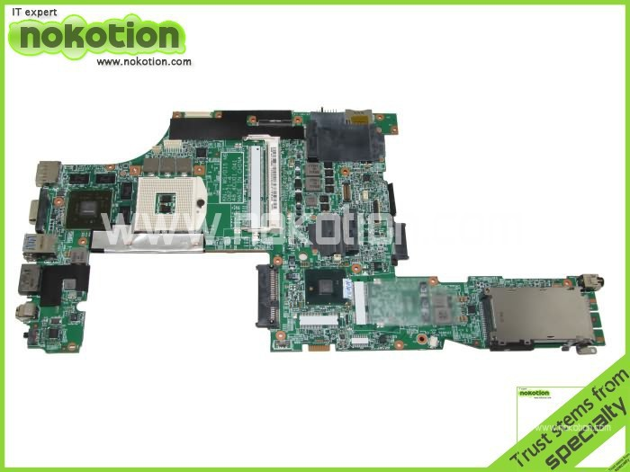 NOKOTION For Lenovo T510 Laptop Motherboard 63Y1894 48.4CU01.041  Intel QM57graphics card DDR3 hot for lenovo z500 laptop motherboard viwzi z2 la 9061p z500 2g video card with graphics card ev2a 100% tested