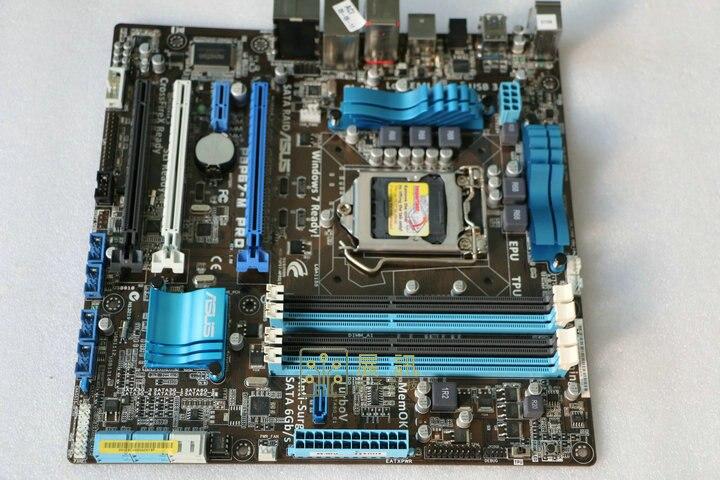 ASUS original motherboard P8P67-M PRO DDR3 LGA 1155 boards RAM 32G USB3.0 SATA  P67 Desktop Motherboard free shipping original motherboard for asus p8p67 le ddr3 lga 1155 ram 32g motherboards sata3 0 usb3 0 mainboard