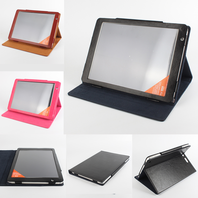 Brand Leather Case For Teclast X98 PLUS, X98 3G Air, X98 Pro, P98 3G, X98 Air III, P98 3G Flip Utra 9.7 inch Tablet PC Cover teclast x98 air 3g phone tablet pc