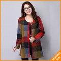 2017 novo inverno grosso acolchoado jaqueta camisa longa-camisa de algodão de mangas compridas vestido de mulheres mais algodão #0363