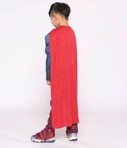 Image 3 - פורים Deluxe שרירים סופרמן תלבושות חג המולד ילדים ילד תחפושות ליל כל הקדושים המפלגה קרנבל Cosplay תלבושות
