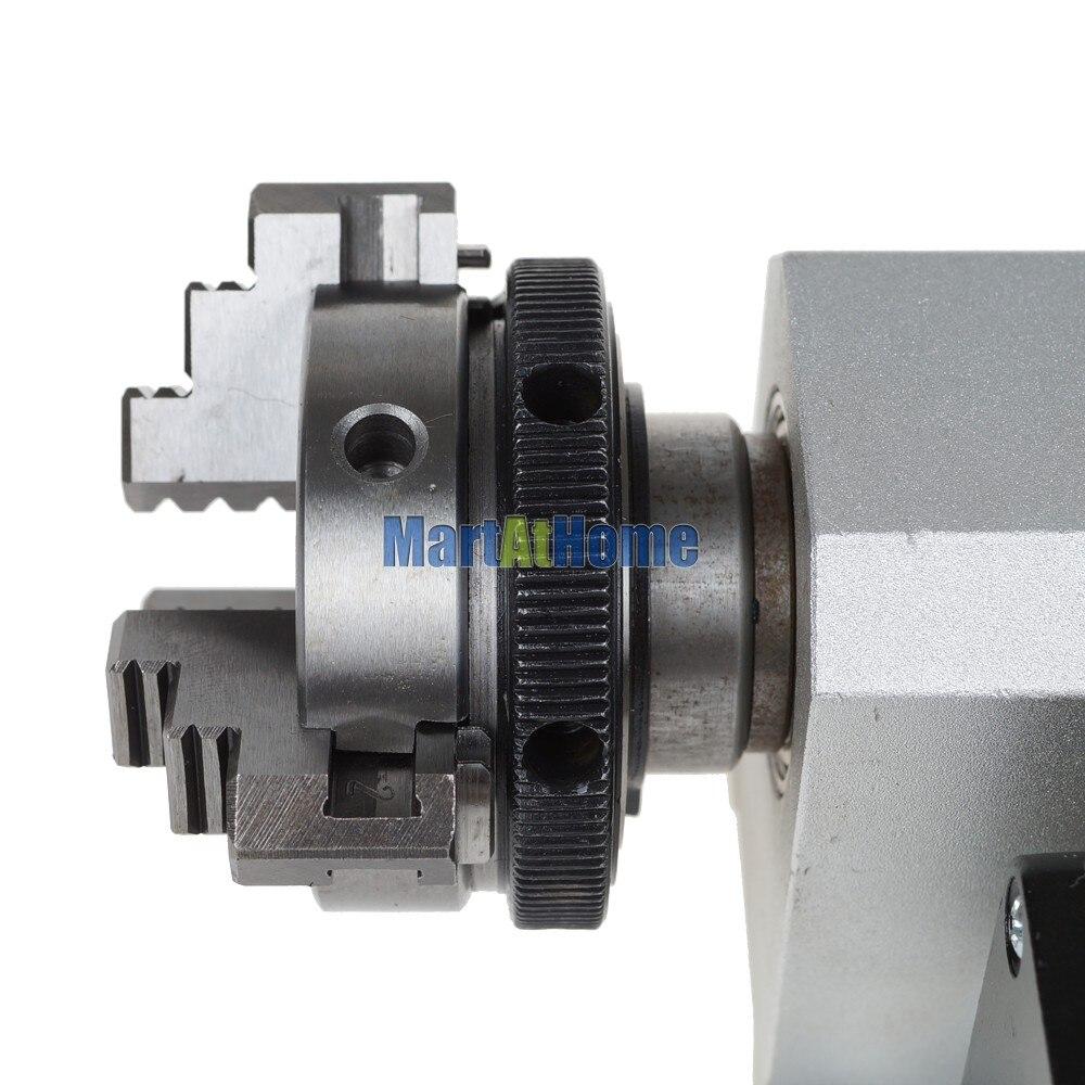 Bricolaje CNC 4 ° eje giratorio tipo F para enrutador CNC, máquina - Maquinaría para carpintería - foto 5