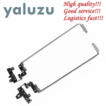 YALUZU New Laptop Hinges for HP Pavilion 15-AC 250 G4 255 G4 15-AC121DX 15-A 15-af Series Notebook Left+Right LCD Screen Hinges free shipping original laptop internal for hp for pavilion 15 af 15 ac 15 ac series 15 ac123cy built in speaker l