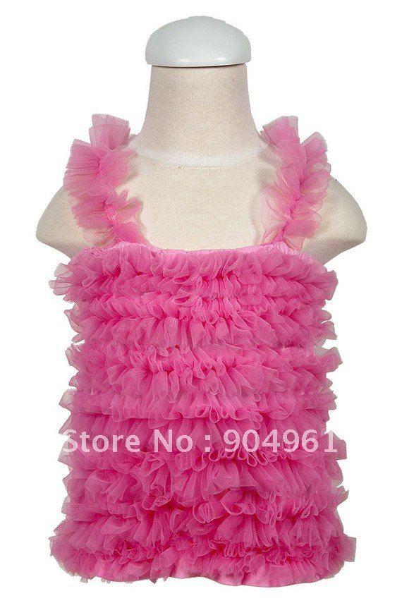 Топ-пачка для девочек; топы для девочек; ярко-розовый цвет