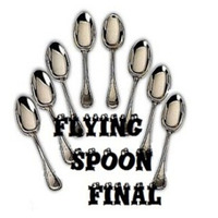 Flying Spoon Final (With DVD),magic trick,stage,accessories,mentalism.illusion,prop,classic toys,comedy
