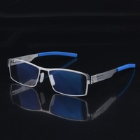 2019 New Berlin Brand Designer Men's Glasses Frame Screwless Optical Prescription Eyeglasses Men Spectacle oculos de grau