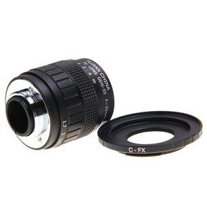 Image 2 - Fujian 35mm F1.7 CCTV Camera lens+lens Adapter ring C FX Mount for Fuji Fujifilm X E2 X E1 X Pro1 X M1/T1
