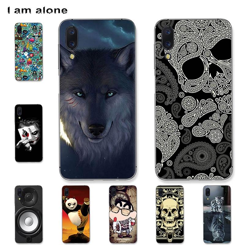 I am alone Phone Case For Umidigi One One Pro 5.9 inch Black Solf TPU Mobile Fashion Bags For Umidigi One One Pro Shipping Free