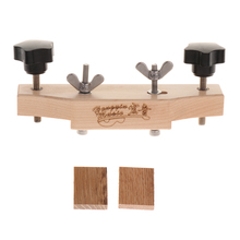 Maplewood Acoustic Folk Guitar Bridge Clamp Repair Tools DIY Luthier Tools for Different Kinds of Bridges luthier guitar bar clamp for acoustic classical electric guitar bass violin cello luthier tool