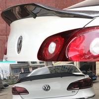 R Style Carbon fiber rear roof spoiler lip wings for Volkswagen VW Passat CC Sandard 2009 2018