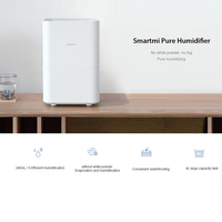 Original Xiaomi Smartmi Air Humidifier 2 Essential Oil Mijia APP Control 4L Capacity Air Conditioning Appliances