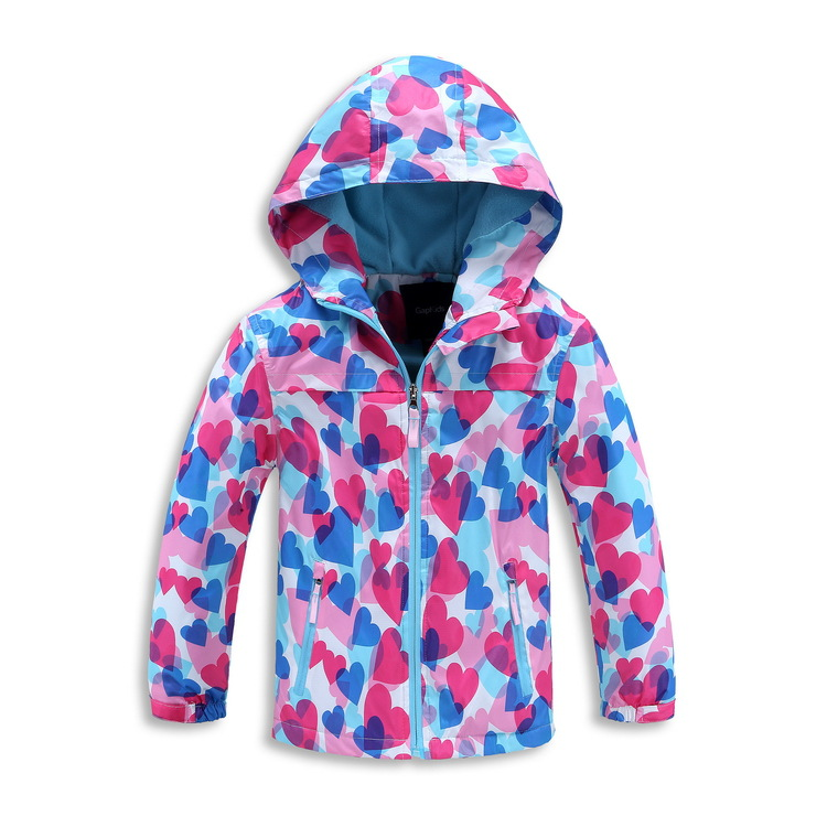 2018 New Autumn Winter Waterproof Windproof Fleece Jackets Children Outerwear Baby Girls Jacket Kids Fashion Casual Coat