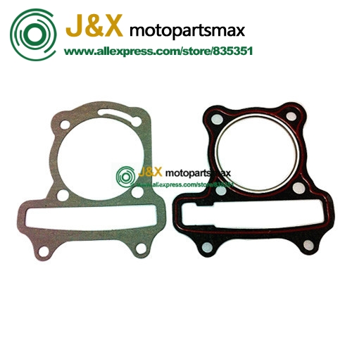 GY6 100 GASKET 50mm Bore Cylinder Kit For Chinese Scooter 139qmb 139qma Engine