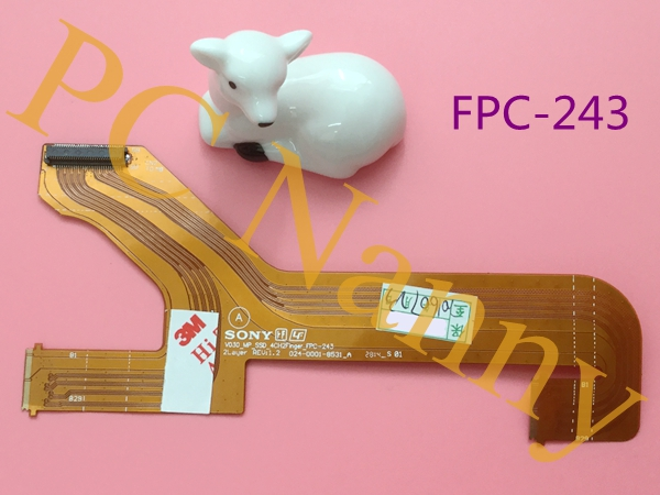 NEW original For sony VPC-SA SB SC Hard drive cable HDD cable V030_MP_SSD FPC-243 024-0001-8531_A work good