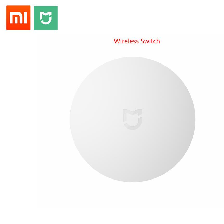 2018 Xiaomi Smart Wireless Switch For Xiaomi Smart Home House Control Center Intelligent Multifunction White Switch In Box