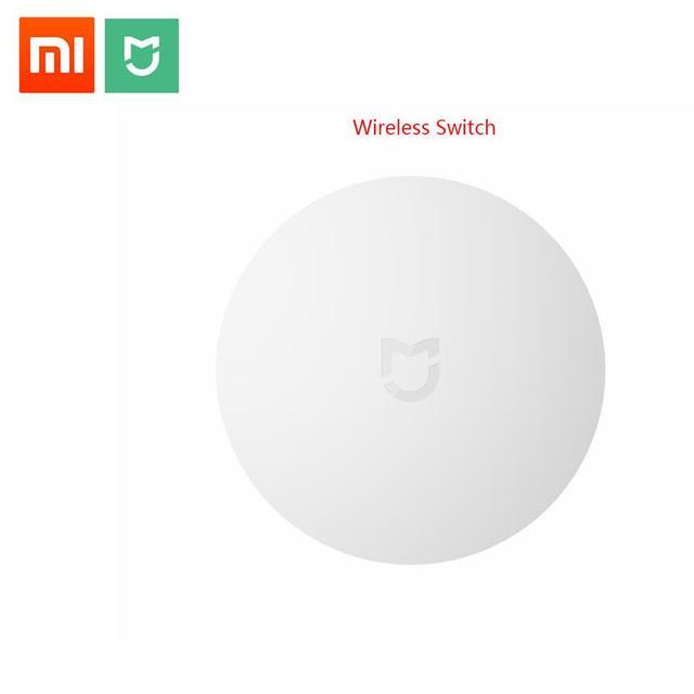 Interruptor inalámbrico inteligente xiaomi 2018 para xiaomi Smart Home Control Center interruptor blanco multifunción inteligente en caja