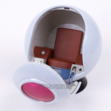 Dragon Ball Project 01 Space Pod Model Toy with LED Light Saiyan Space Pod 1/12 Scale PVC Action Figure Collectible