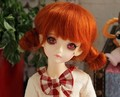 MSD BJD wig   1/4 Guyomi Mohair Wig   7-8 inch doll accessories