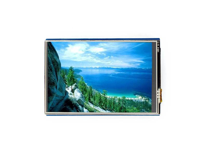 3.5inch Touch LCD Shield For Resistive 480x320 Resolution Standard Interface Controlled Via SPI Micro SD Slot