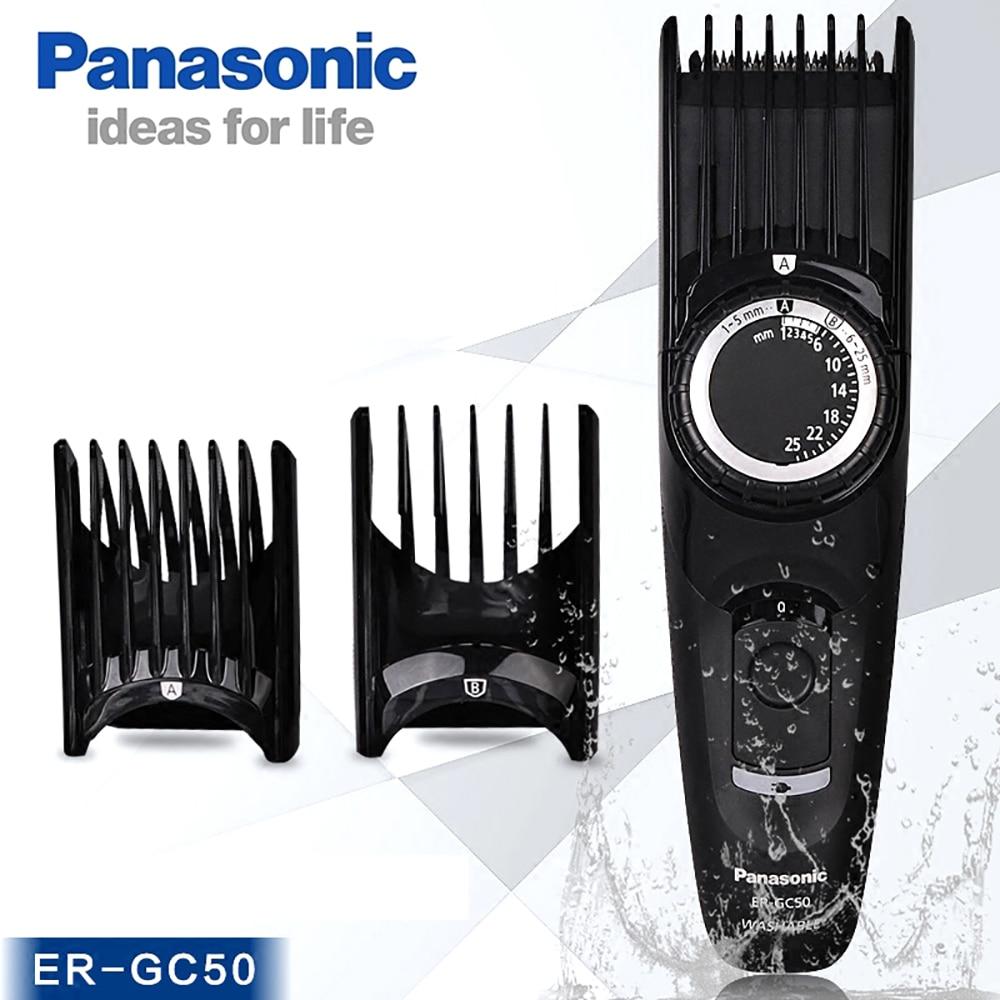 Panasonic ER-GP80 électrique tondeuse à cheveux ER-GC50 Rechargeable professionnel tondeuse à cheveux en acier inoxydable tête de coupe 110-220 V
