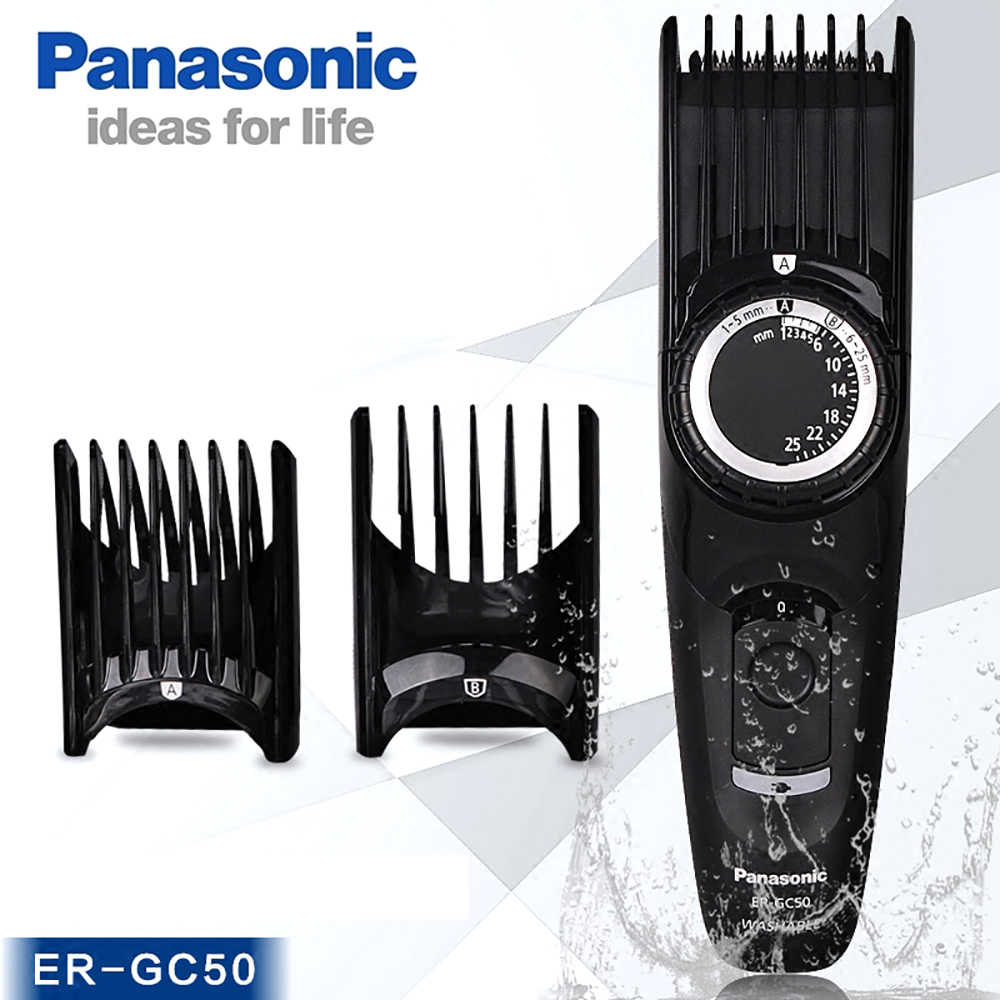 10158f069a5 Panasonic ER-GP80 Electric Hair Clipper ER-GC50 Rechargeable Professional  Hair Clipper Stainless Steel