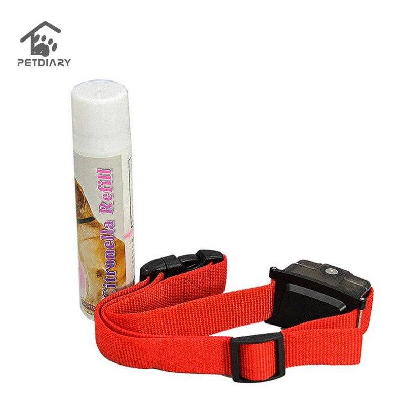 Rechargeable Sans Écorce Mist Spray Chien Col En Utilisant Humaine et Sécuritaire Pet Citronnelle