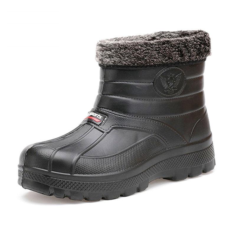 Popular Waterproof Winter Work Boots-Buy Cheap Waterproof Winter ...
