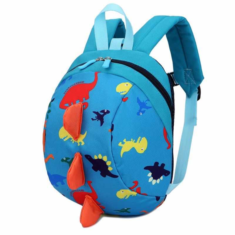 2018 детская игрушка школьная сумка мультфильм Динозавр принт мини плюшевый рюкзак дети открытый дорожная сумка студент Детский сад BagsNew