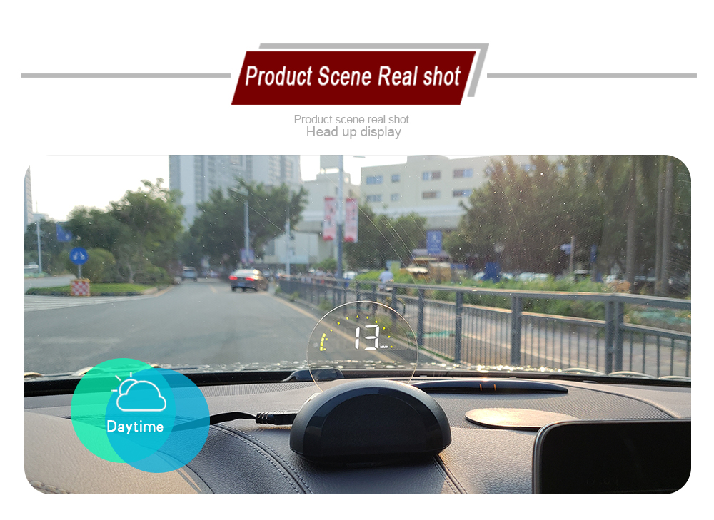 Image 5 - C700S &C700 OBD Car GPS HUD Head Up Display With Mirror Digital Projection Car Overspeed Alarm Free Shipping-in Head-up Display from Automobiles & Motorcycles